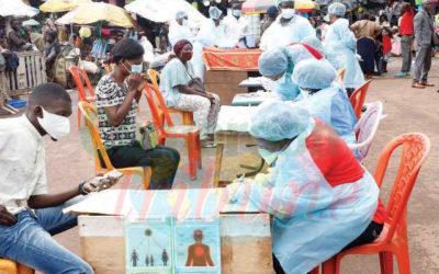 Le Minsanté lance le dépistage massif de la Covid-19 dans les marchés publics de Yaoundé