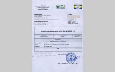 Eliminatoires Can Cameroun 2021 : les tests covid-19 en provenance de l'Afrique centrale rejetés par la Gambie et le Mozambique