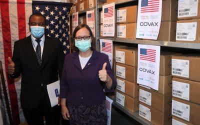 Les États-Unis font don de 303,050 doses du vaccin Johnson & Johnson contre la COVID-19 au Cameroun